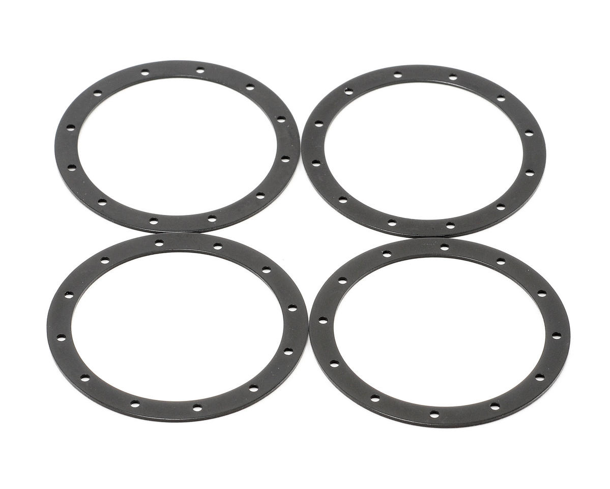 Team Associated Bead Guard Ring (Black) (4)