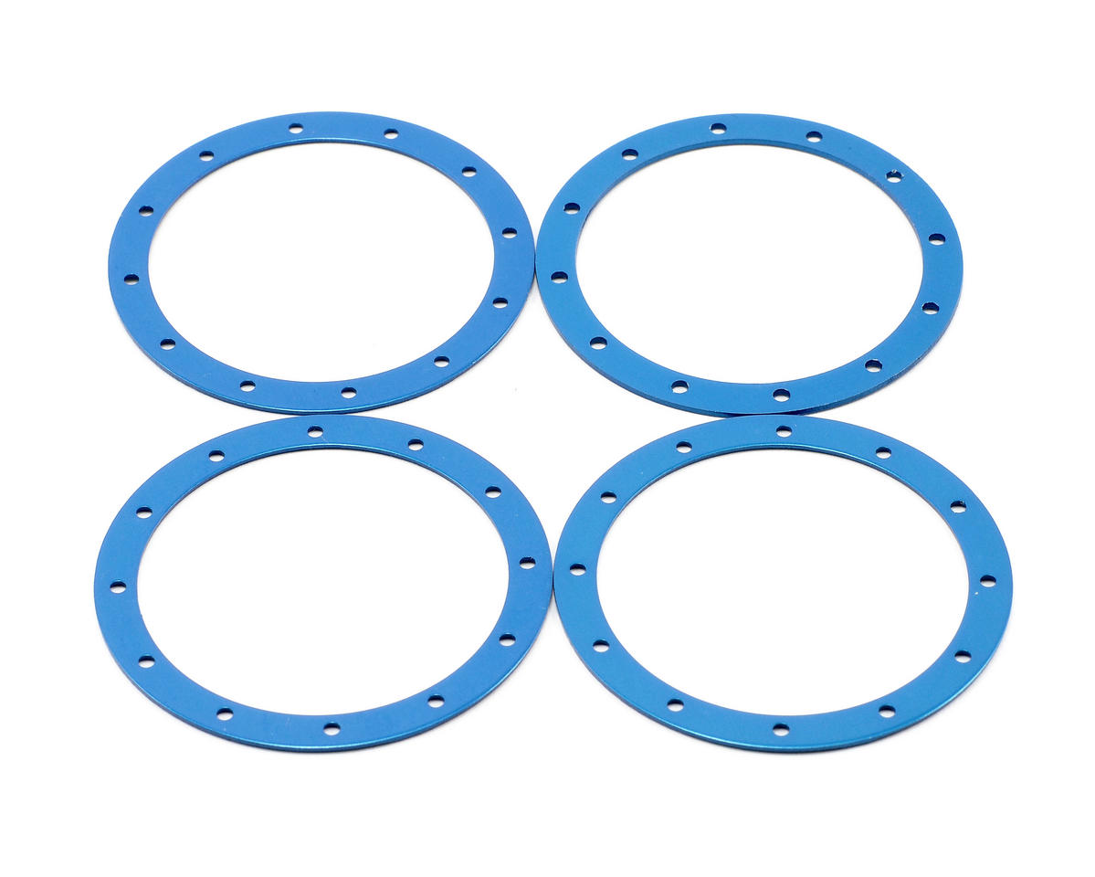 Team Associated Bead Guard Ring (Blue) (4)