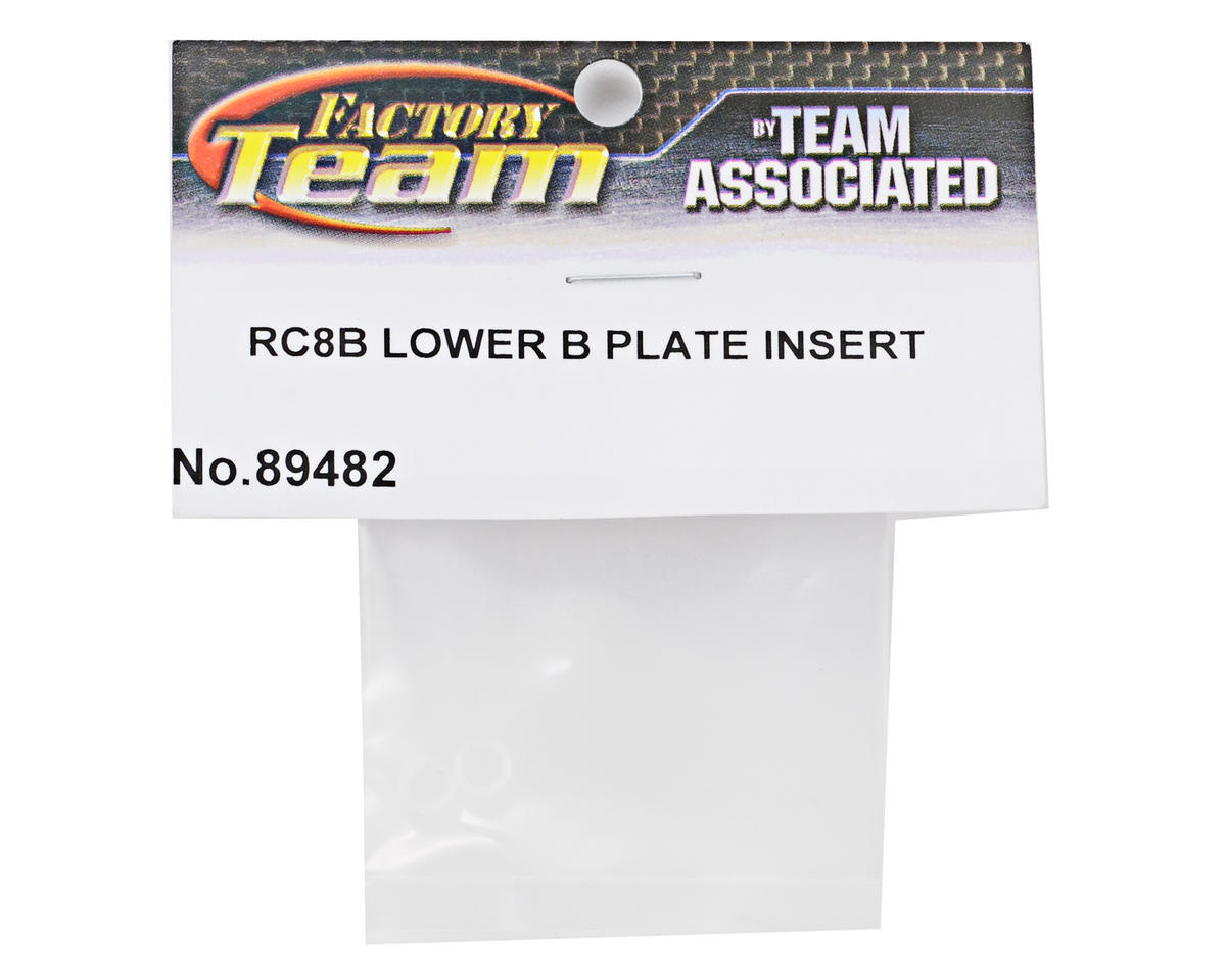 "Team Associated ""Low-B"" Plate Insert Set"