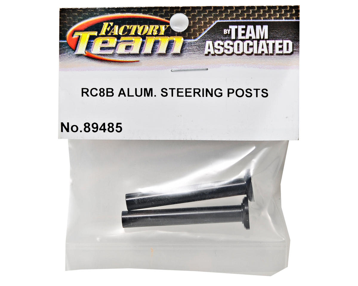 Team Associated Aluminum Steering Post Set (2)
