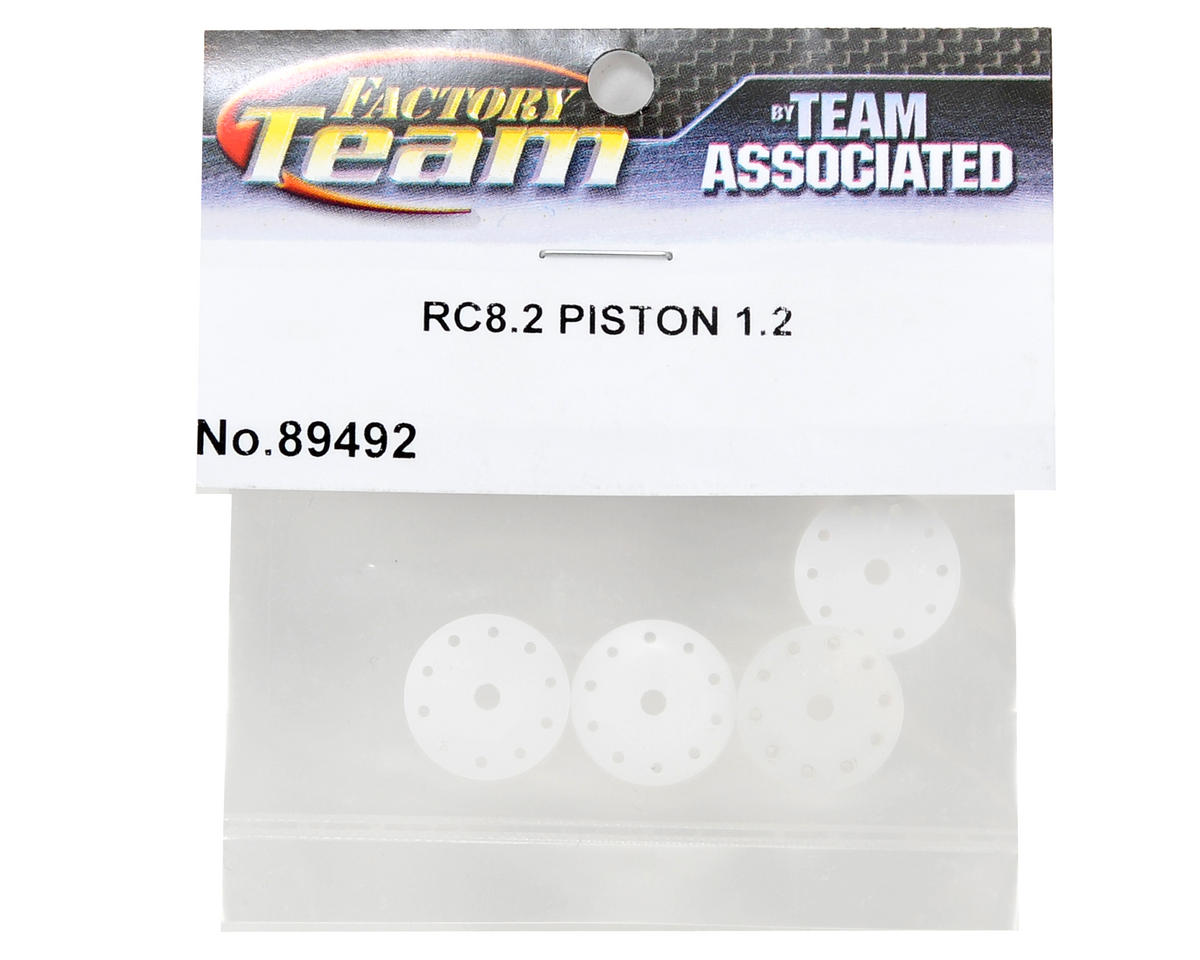 Team Associated 16mm 5x1.1 & 5x1.2 Shock Piston Set (4)