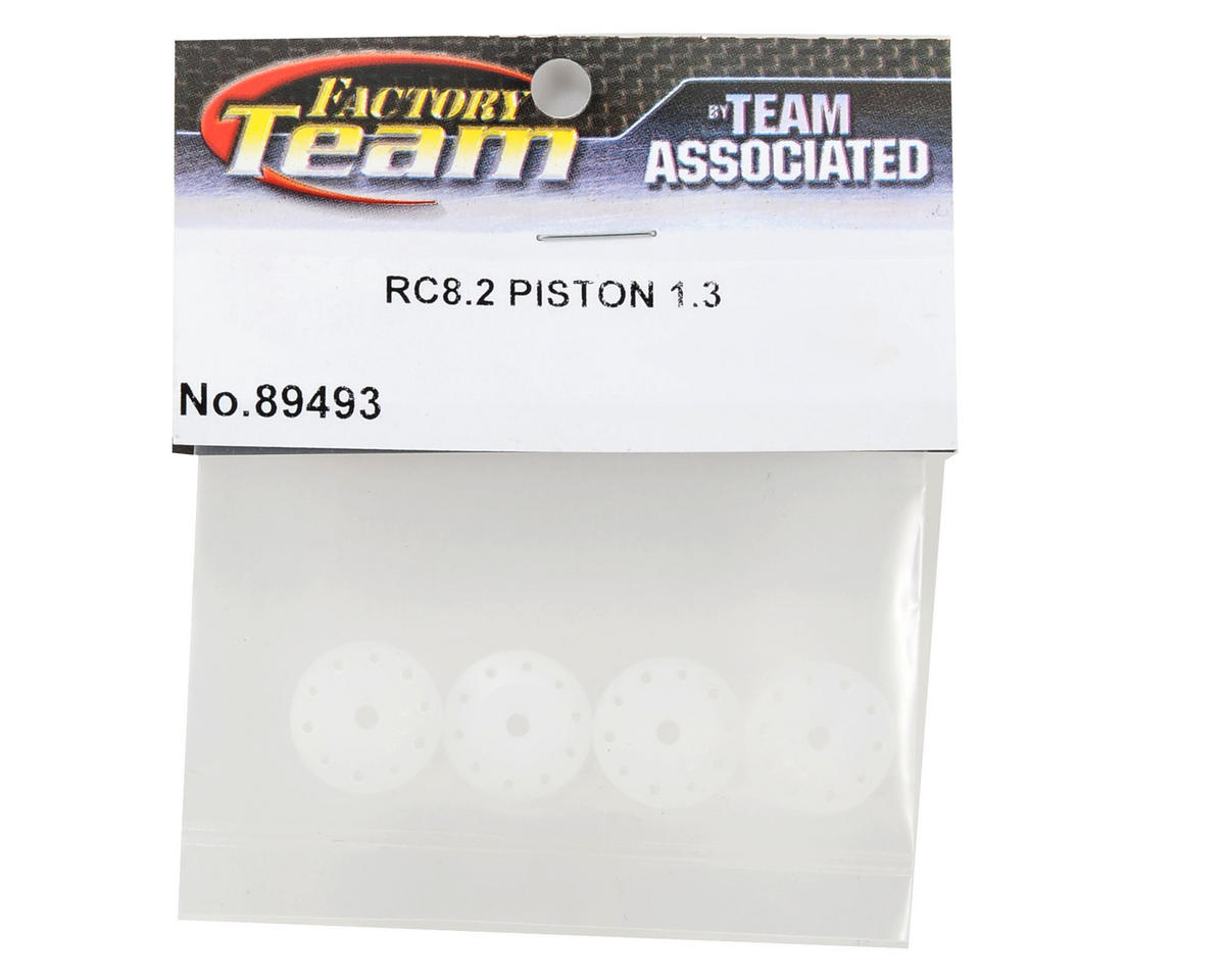Team Associated 16mm 5x1.1 & 5x1.3 Shock Piston Set (4)