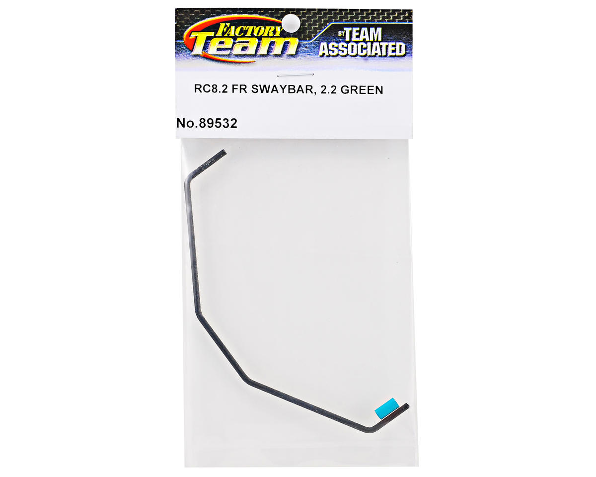 Team Associated Front 2.2 Swaybar (Green) (RC8.2)