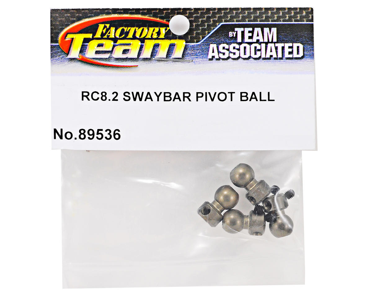 Team Associated Swaybar Pivot Ball Set (4) (RC8.2)
