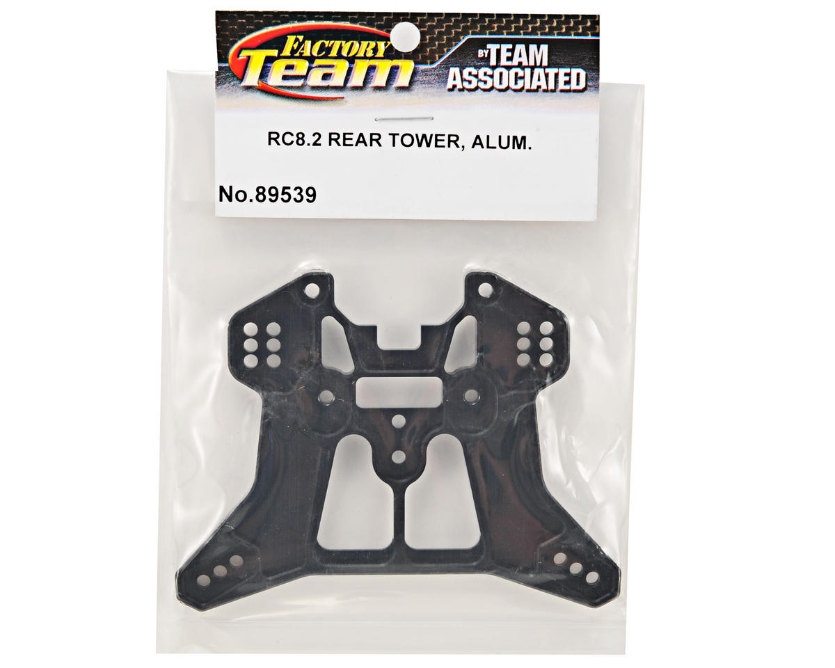 Team Associated Aluminum Rear Shock Tower (RC8.2)