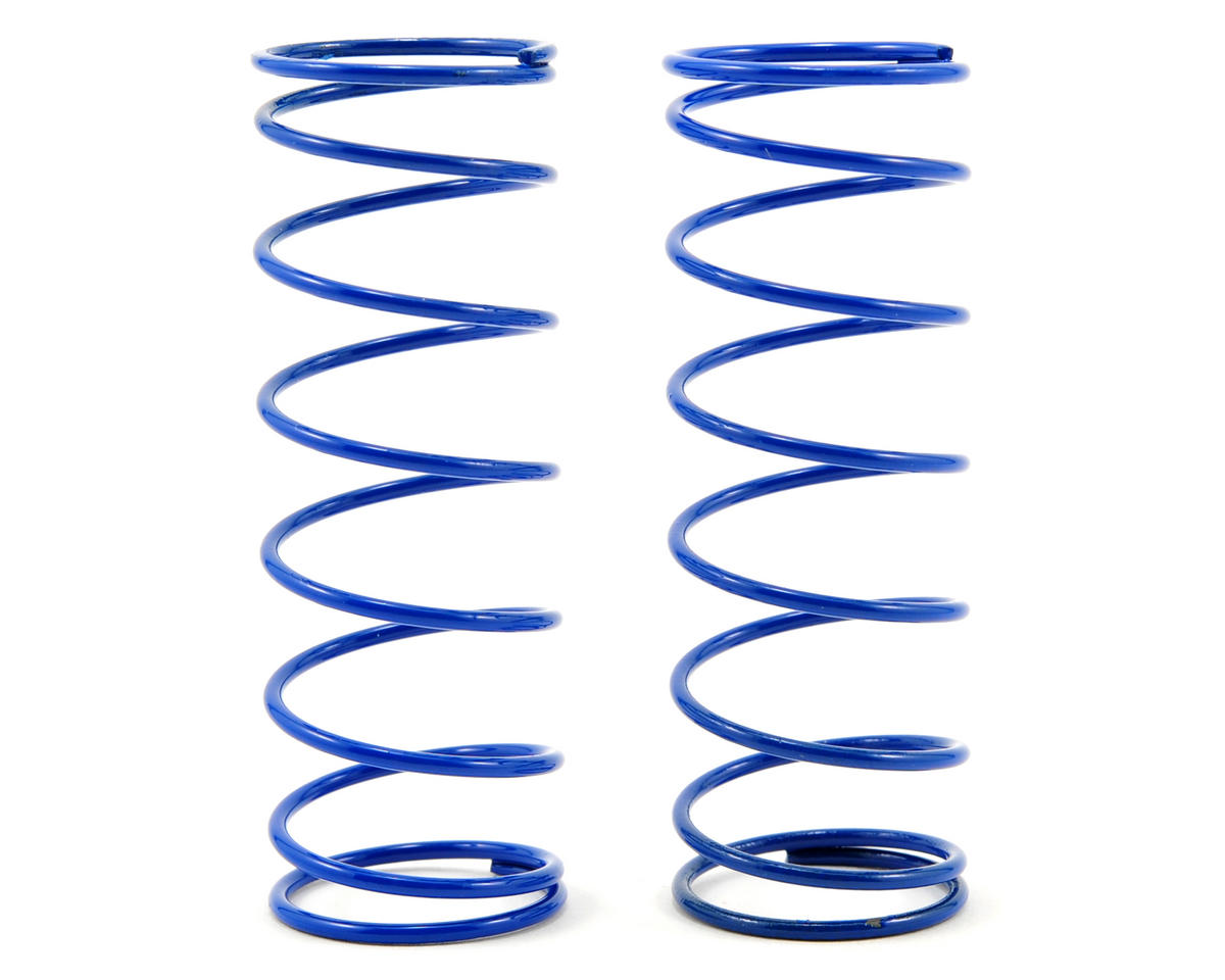 Front Shock Spring Set (Blue - 4.65) (2) (RC8.2) by Team Associated