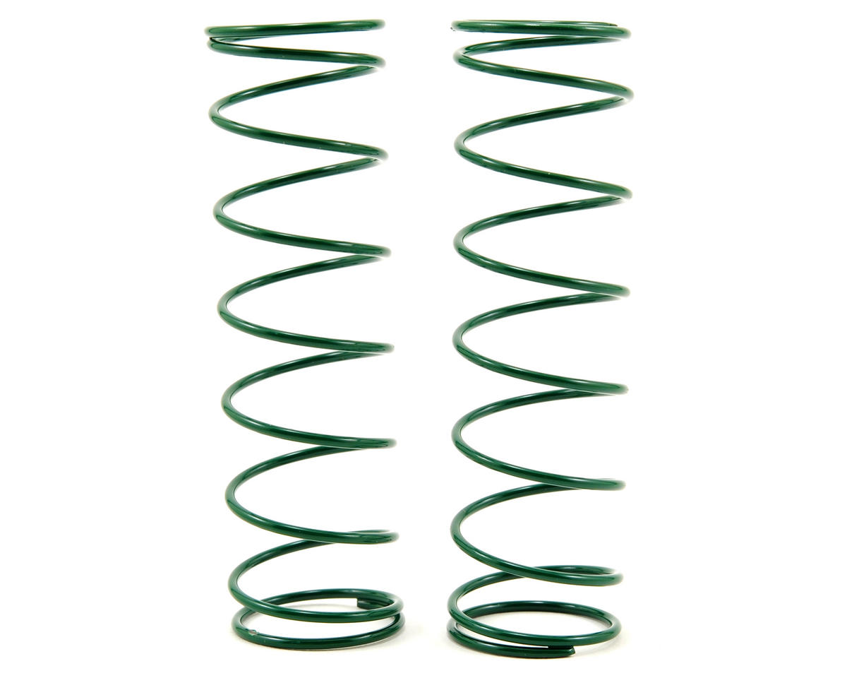 Team Associated Rear Shock Spring Set (Green - 3.25) (2) (RC8.2)