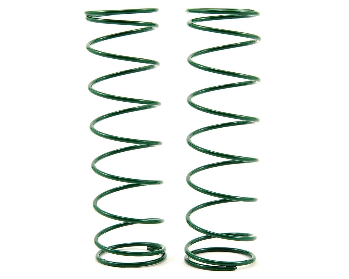 Rear Shock Spring Set (Green - 3.25) (2) (RC8.2) by Team Associated