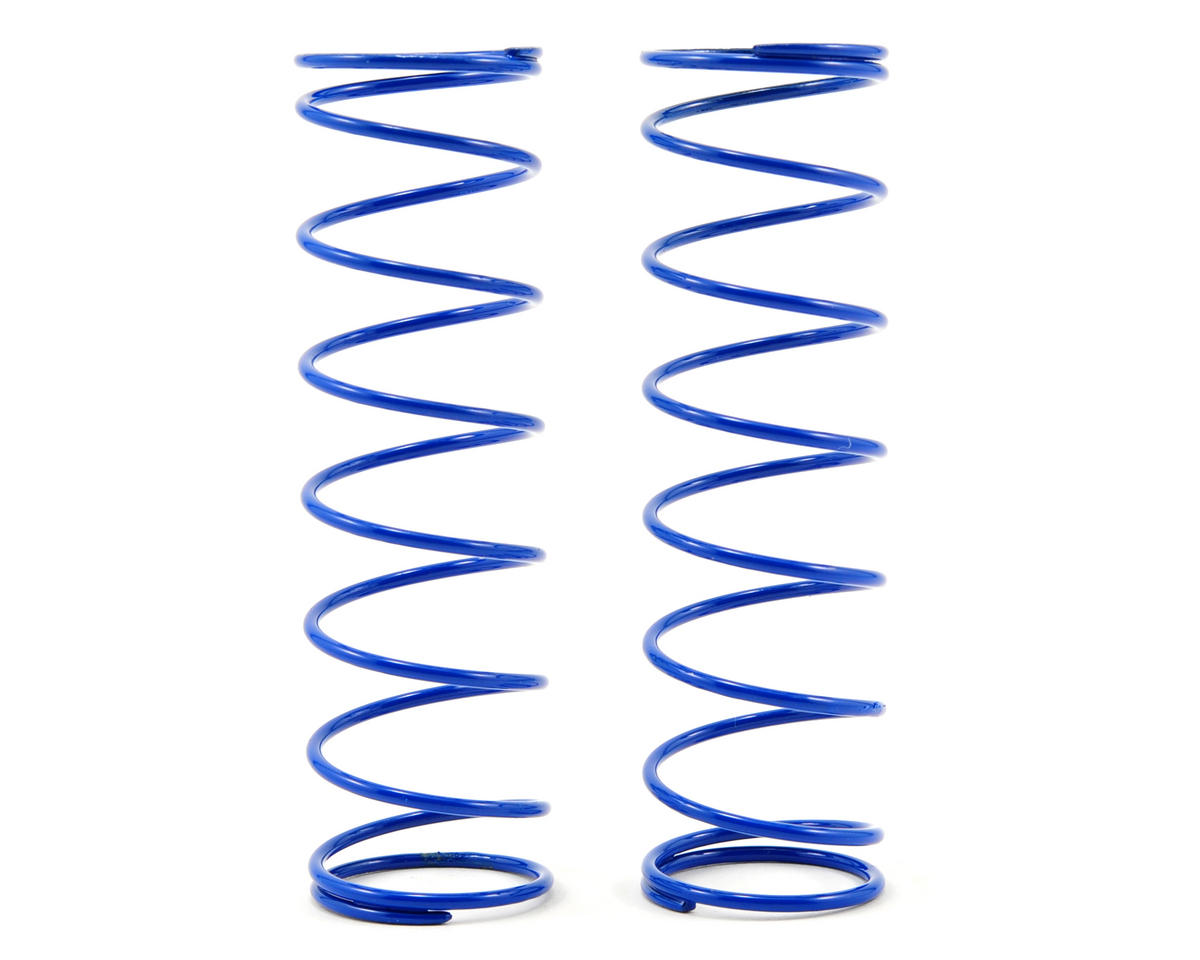 Rear Shock Spring Set (Blue - 3.75) (2) (RC8.2) by Team Associated