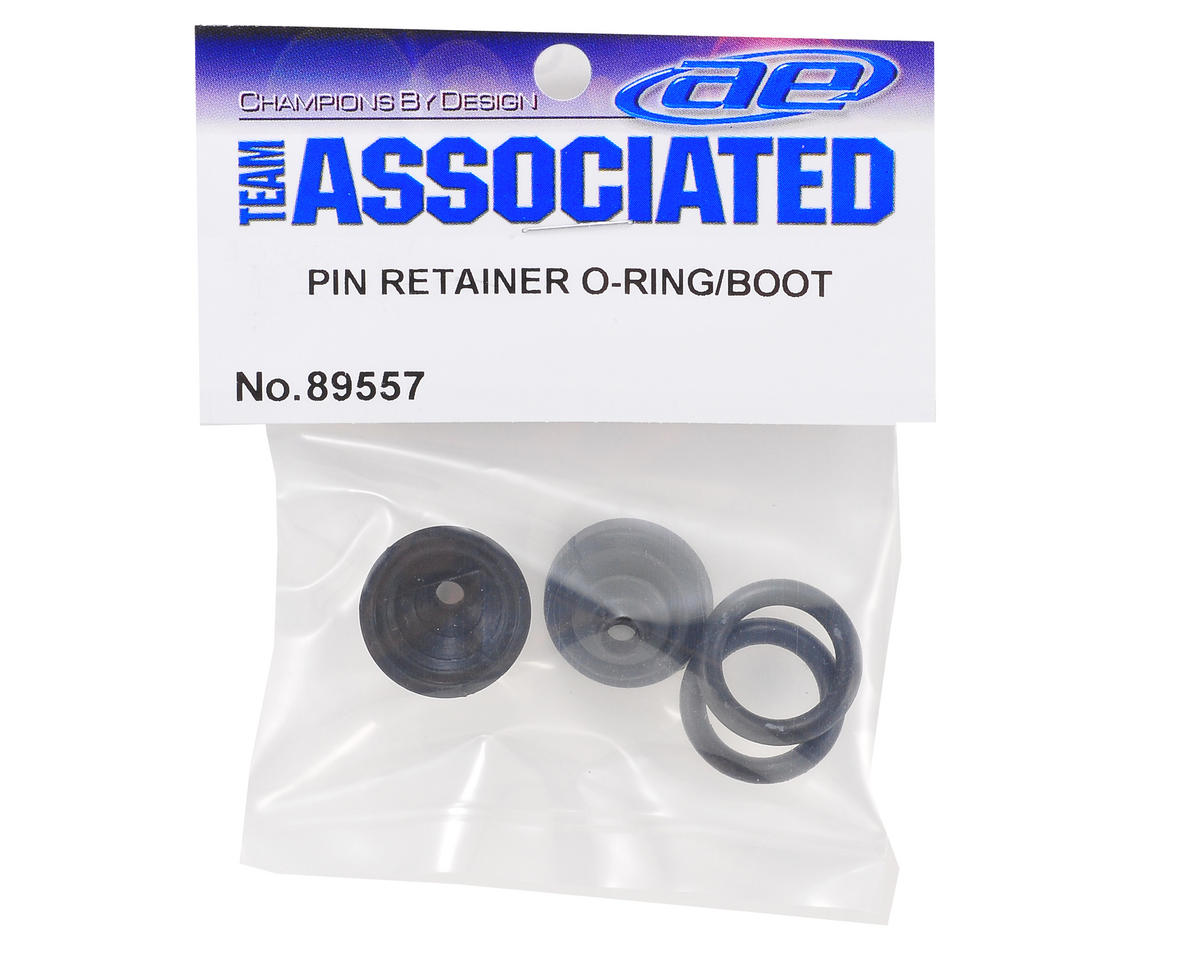 Team Associated Pin Retainer O-Ring Set w/Boots (RC8.2)