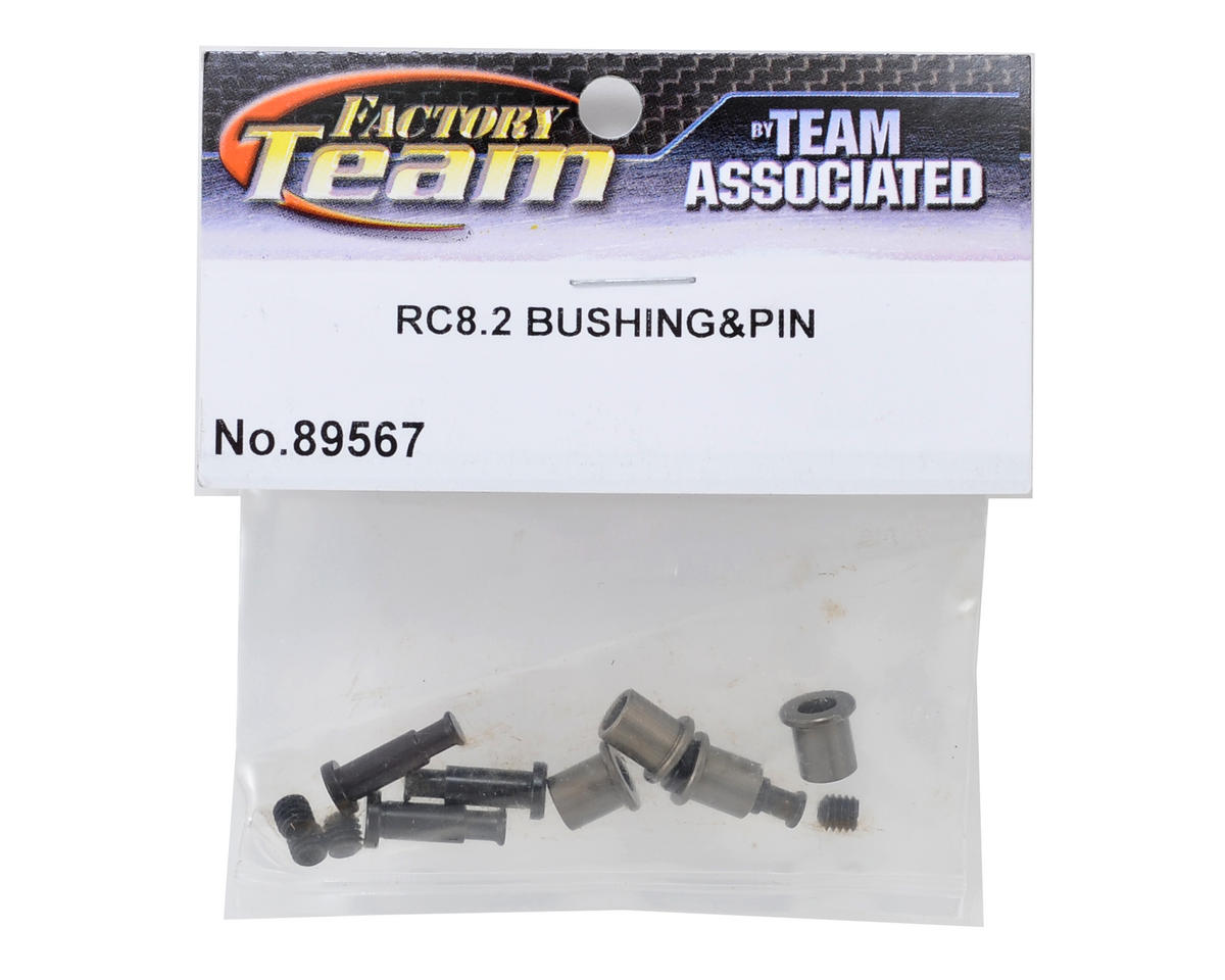 Team Associated Vertical Bushing & Pin Set (4)