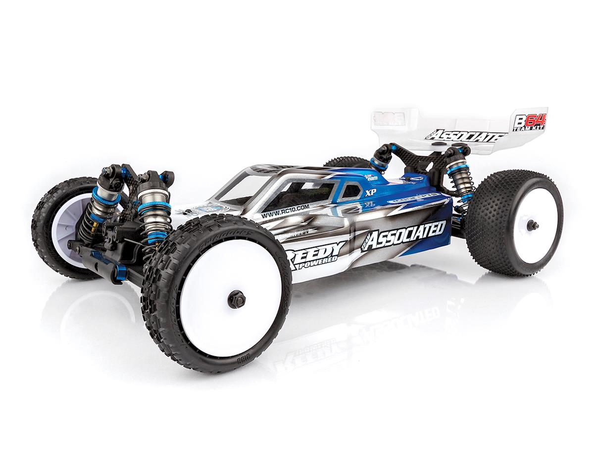 RC10 B64 Team 1/10 4WD Buggy Kit Combo (Carpet) by Team Associated