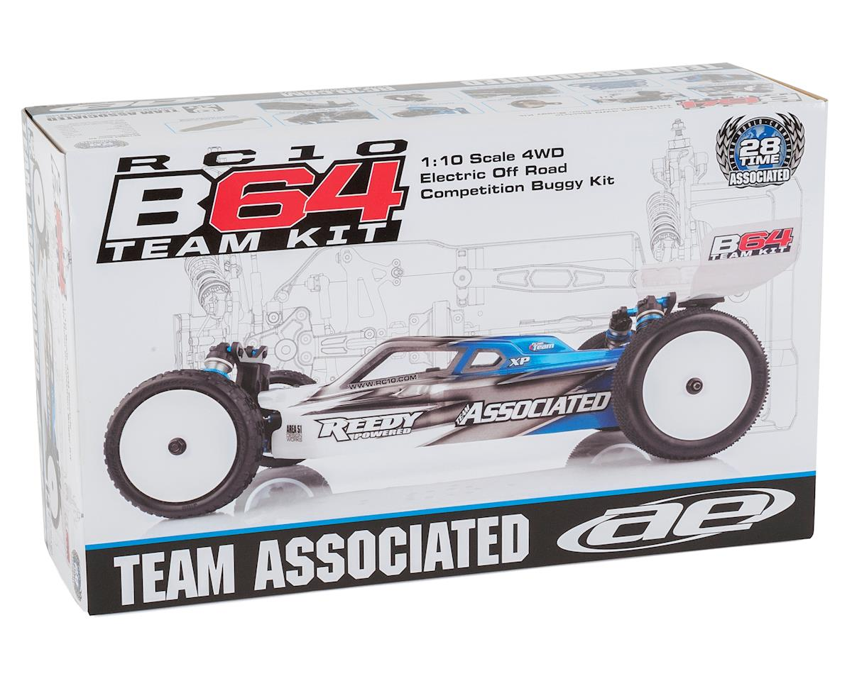 Team Associated RC10 B64 Team 1/10 4WD Buggy Kit Combo (Carpet)