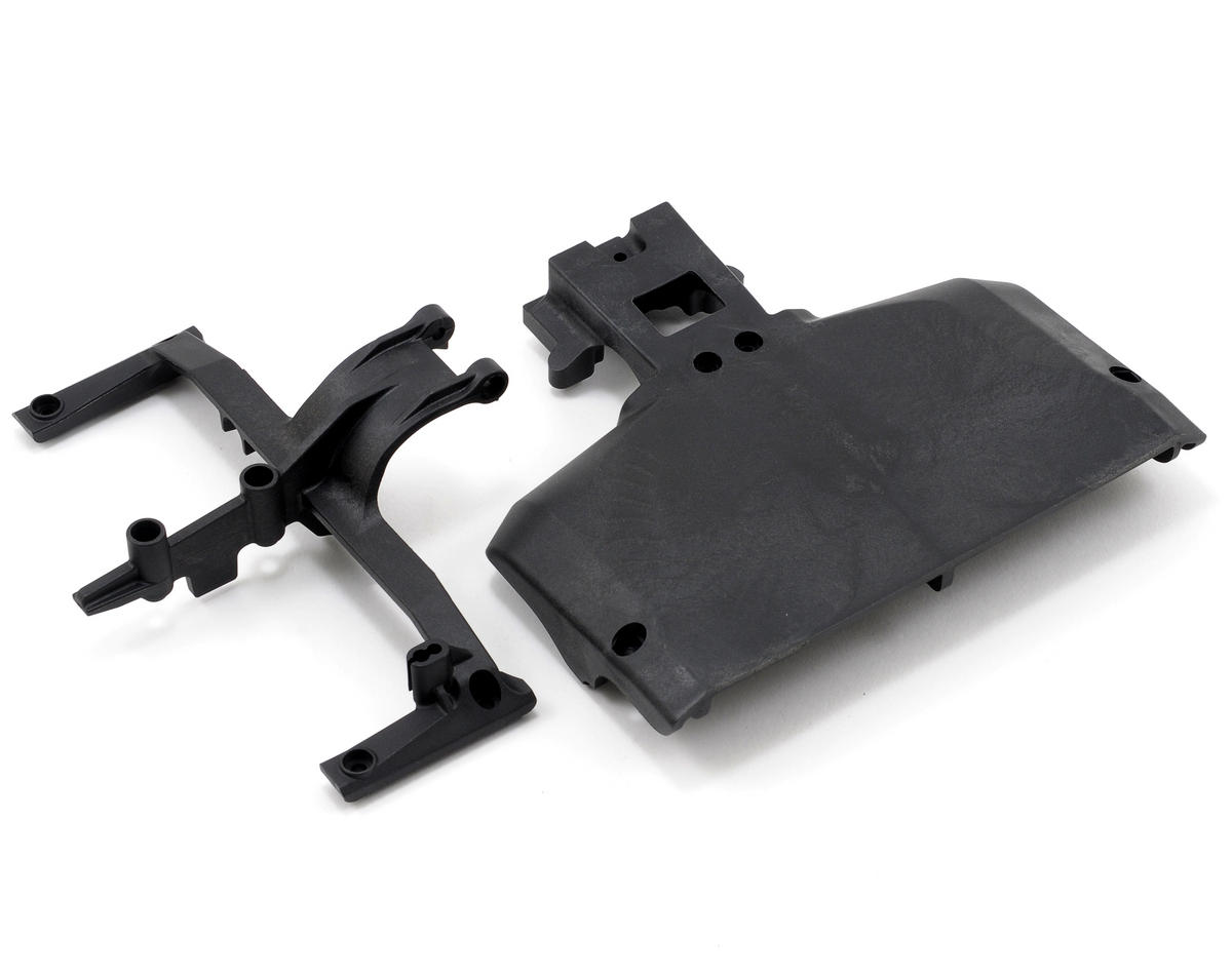 Team Associated Rear Chassis Plate/Brace Set
