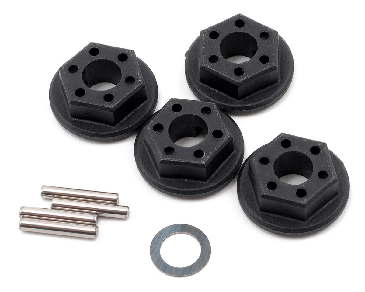 Team Associated SC10 4x4 12mm Wheel Hex Set (4)