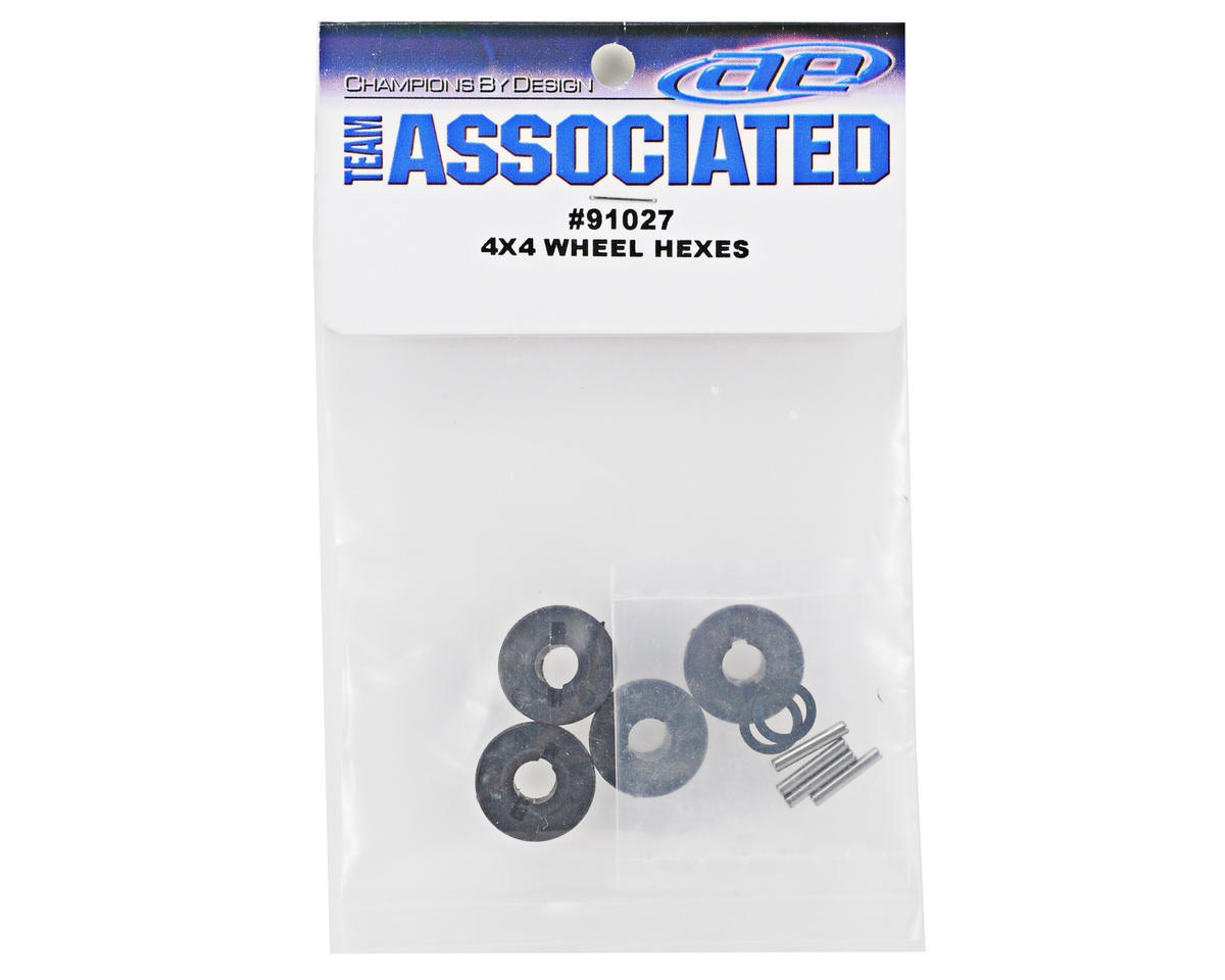 Team Associated 12mm Wheel Hex Set (4)