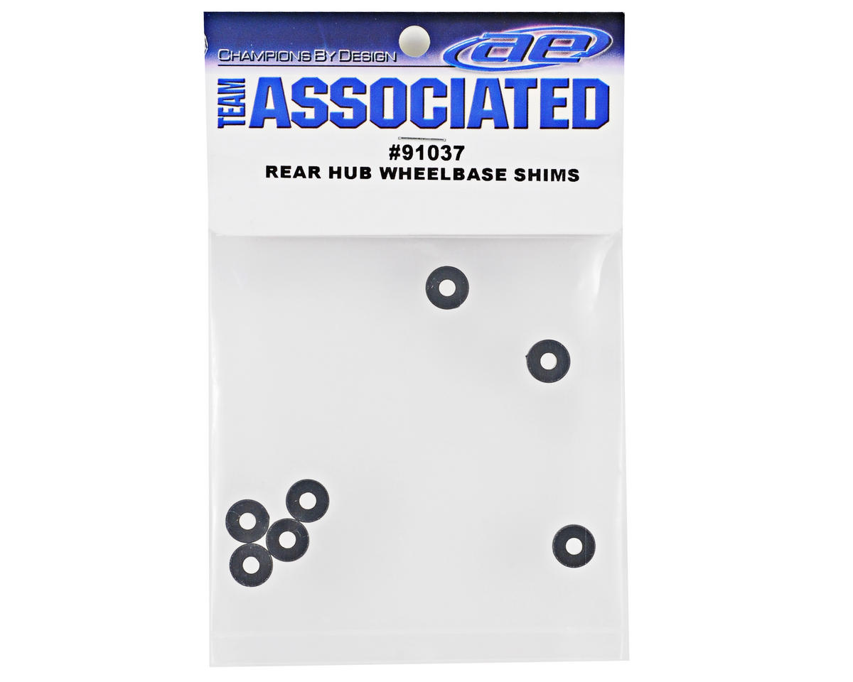 Team Associated Rear Hub Wheelbase Shim Set