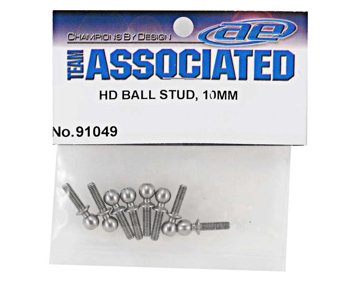 10mm Heavy Duty Ballstud Set (8) by Team Associated