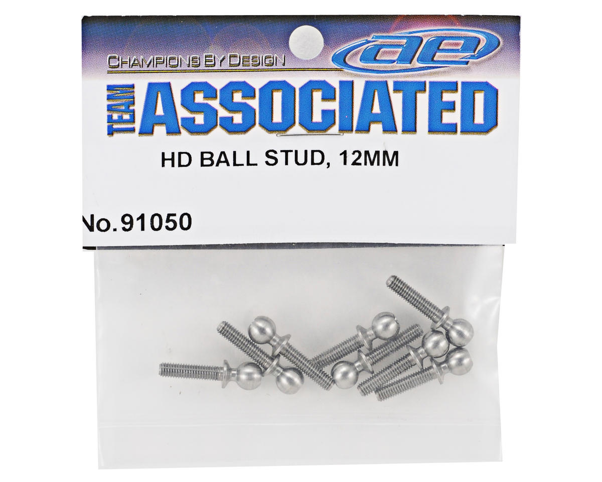 Team Associated 12mm Heavy Duty Ballstud Set (8)