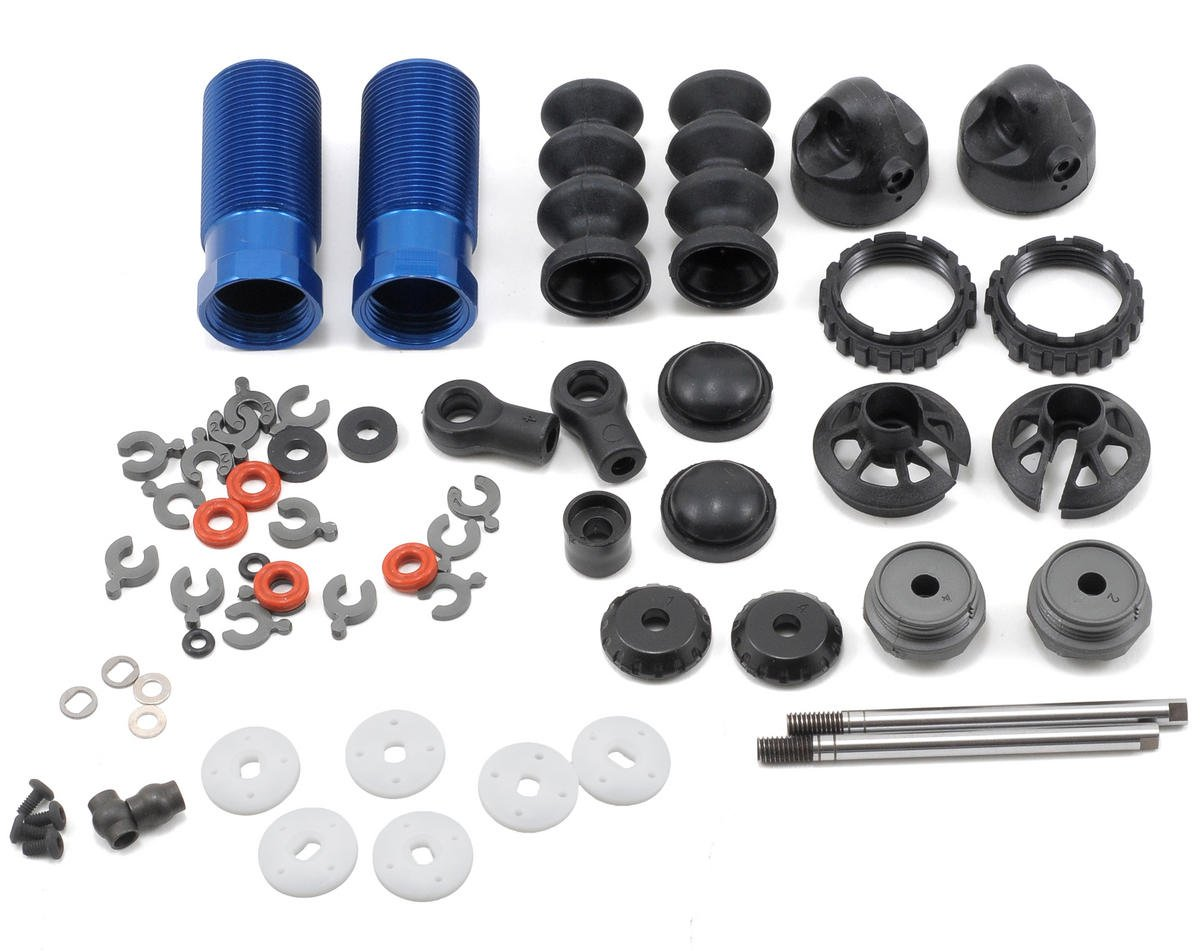 Team Associated 13mm Front Shock Kit (Blue)