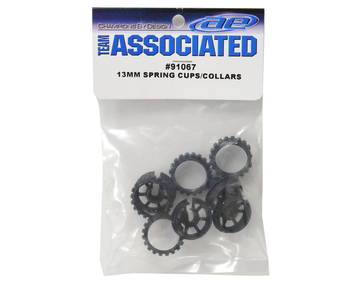 Image 2 for Team Associated 13mm Spring Cup & Collar Set