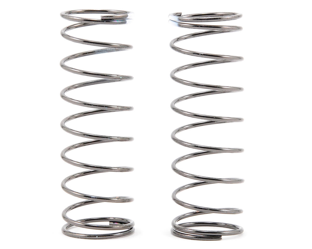 Team Associated 13mm Front Shock Spring (White - 3.9lb) (2)