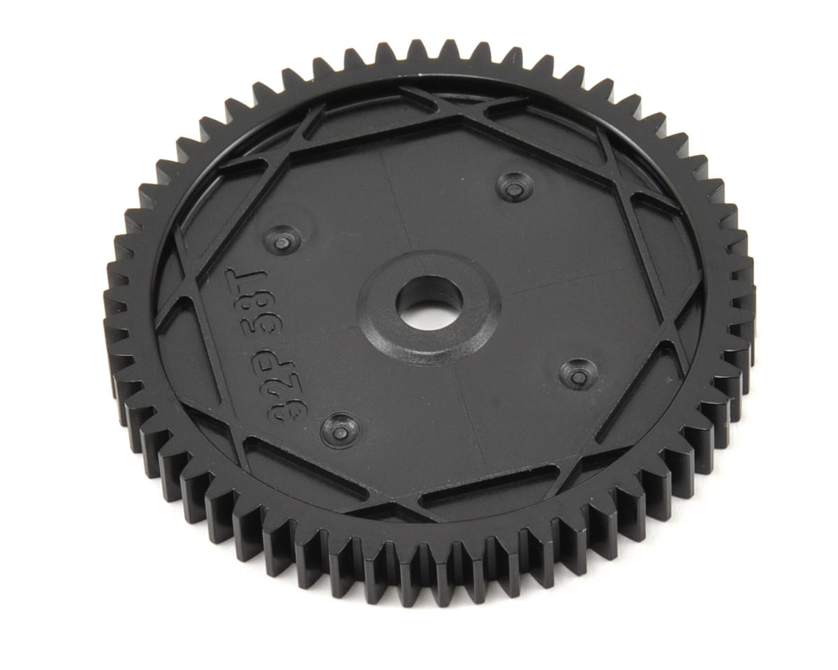 32P Spur Gear (SC10 4x4) (58T) by Team Associated