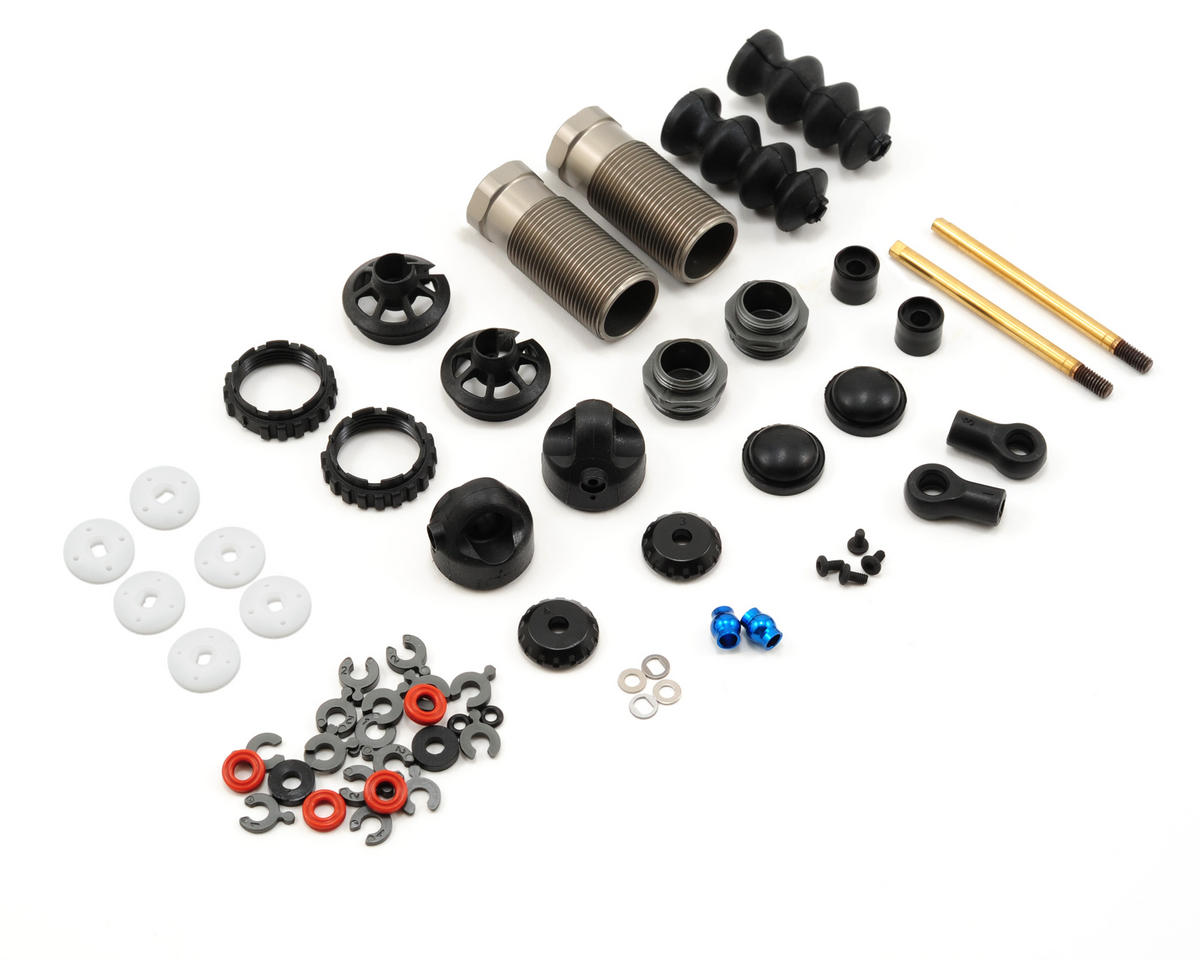 Team Associated Factory Team 13x26mm Hard Anodized Front Shock Kit