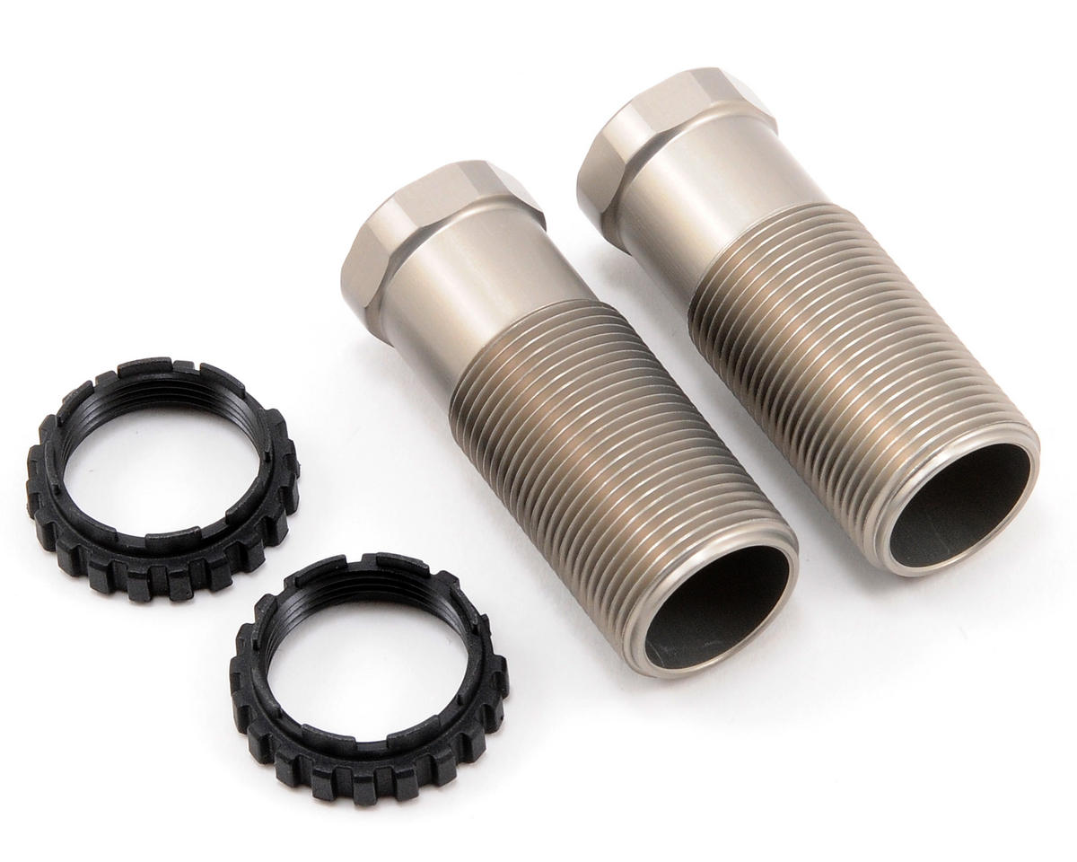 Team Associated Factory Team 13mm Hard Anodized Rear Shock Body Set (2)