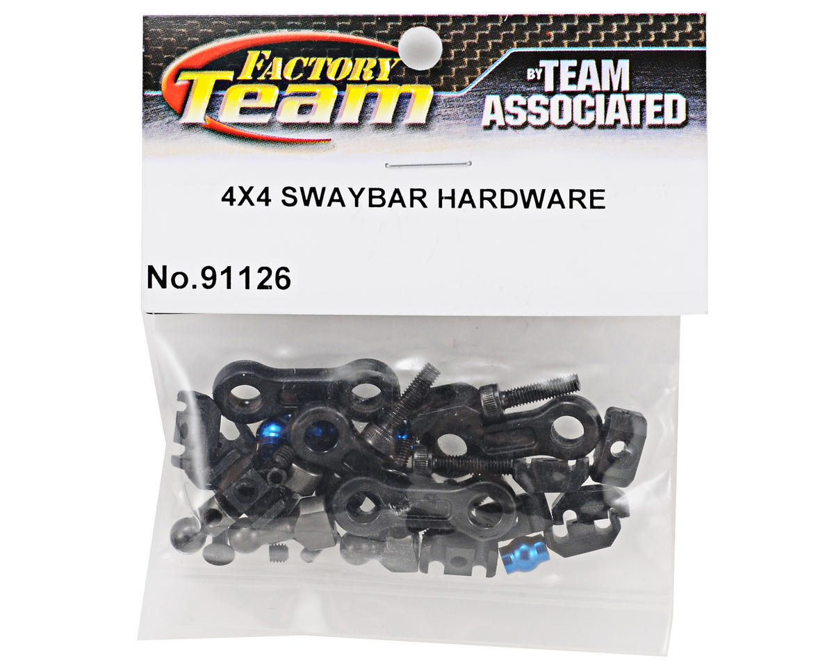 Team Associated Factory Team Swaybar Hardware Set