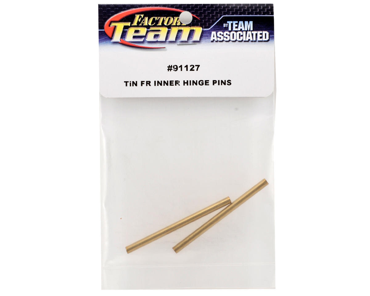 Team Associated Factory Team Ti-Nitride Front Inner Hinge Pin Set
