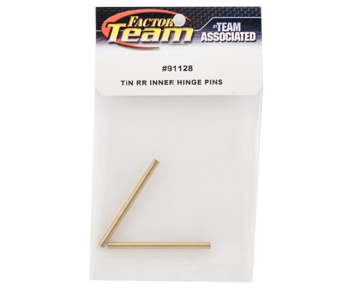 Team Associated Factory Team Ti-Nitride Rear Inner Hinge Pin Set