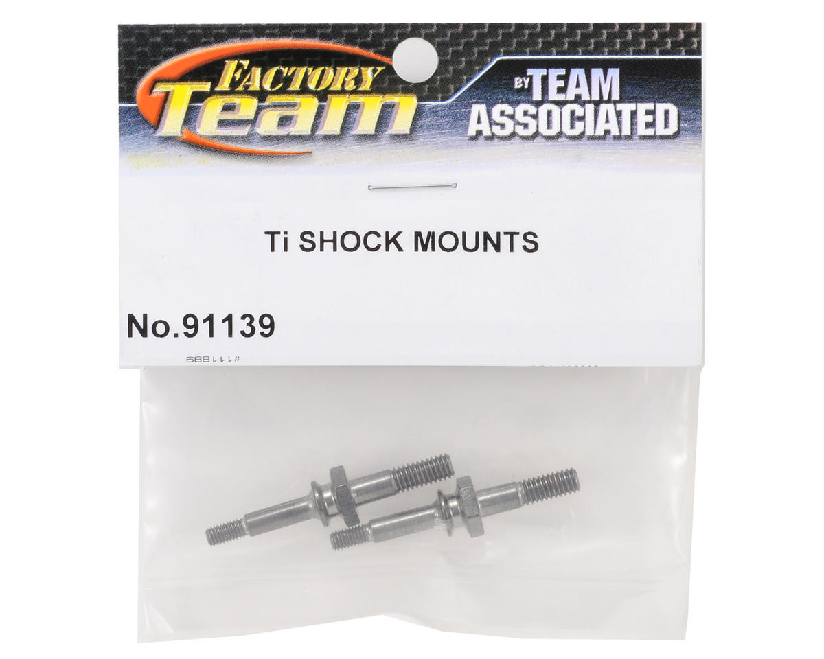Team Associated Factory Team Titanium Shock Mount Set (2)