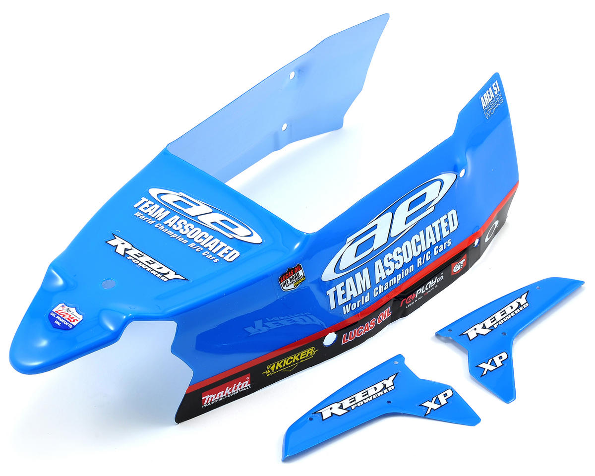 Team Associated SC10B AE Painted Body (Blue)