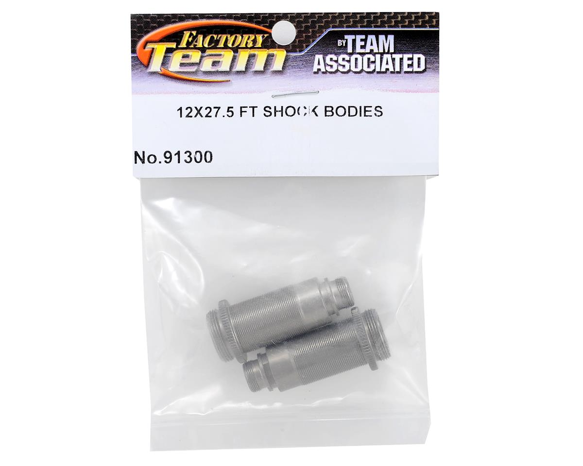 Team Associated 12x27.5mm Front Threaded Big Bore Shock Body (2) (SC10/T4)