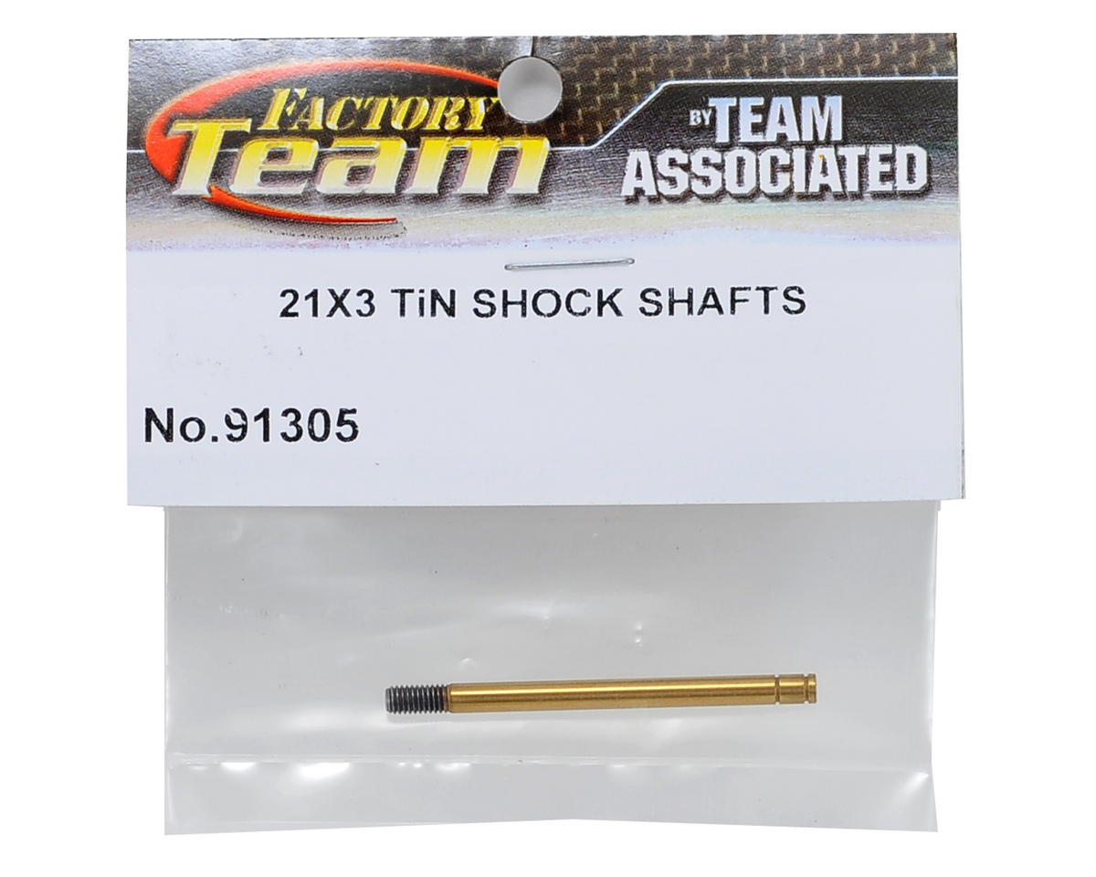 3x21mm Ti-Nitride Shock Shaft by Team Associated