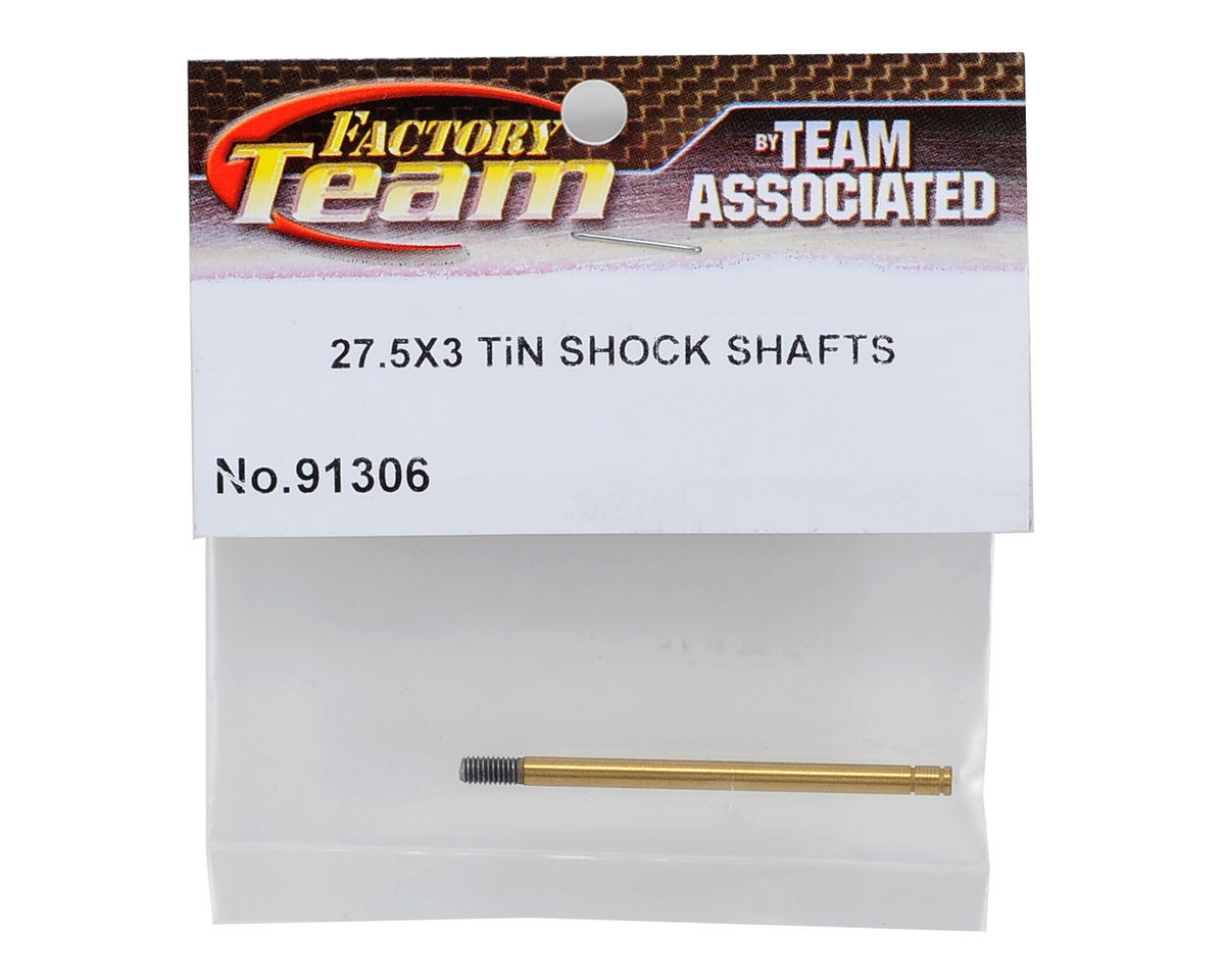 Team Associated 3X27.5mm Ti-Nitride Shock Shaft