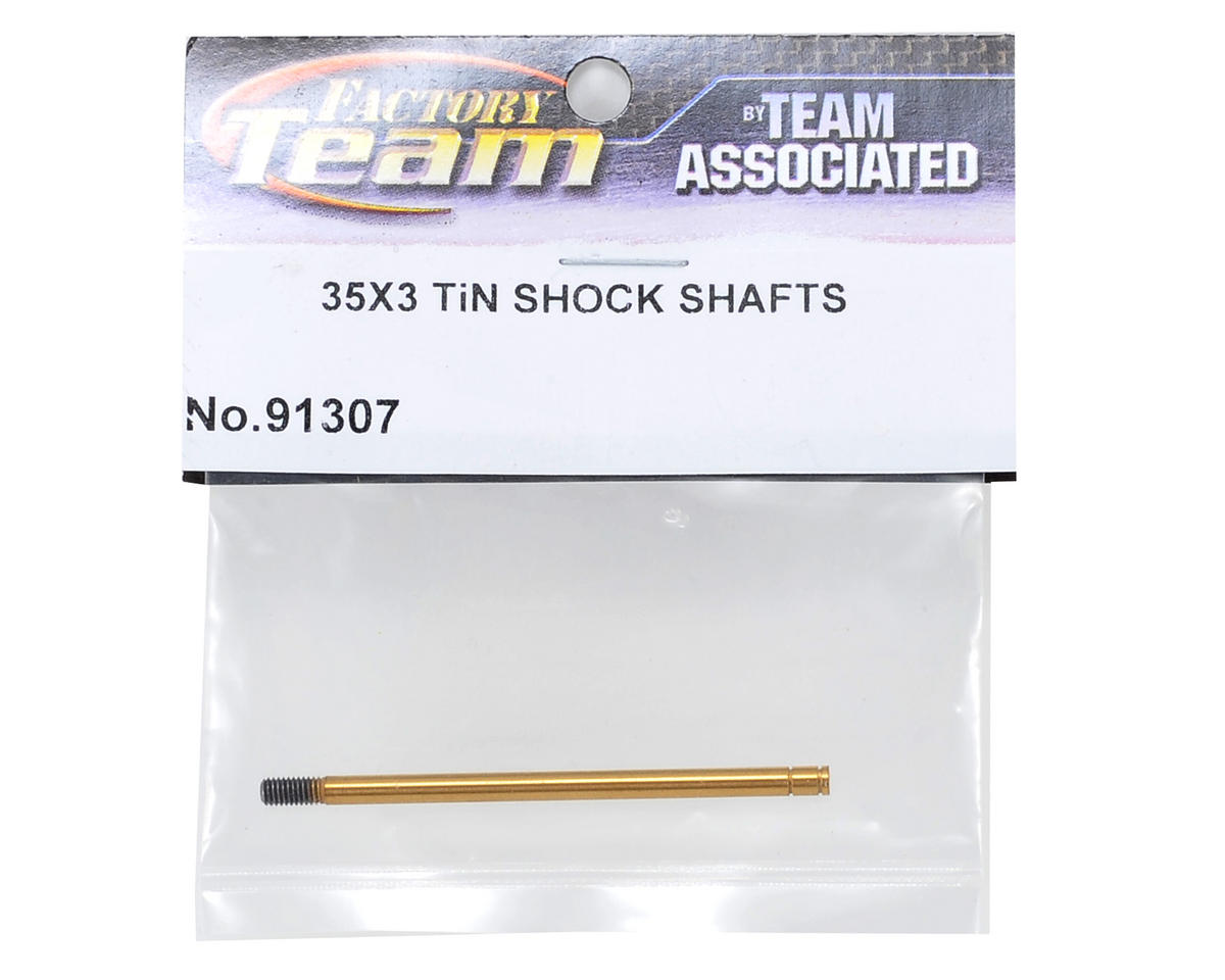 Team Associated 3X35mm Ti-Nitride 12mm Big Bore Shock Shaft (1)