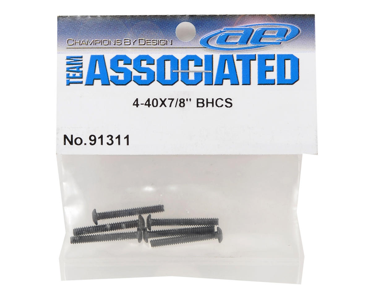"Team Associated 4-40x7/8"" Button Head Screw (6)"