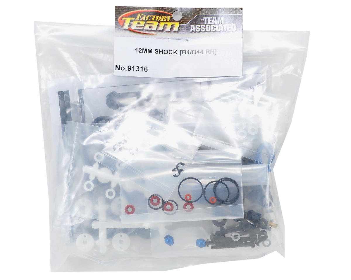 Team Associated 12mm Big Bore Rear Shock Kit (B4/B44)