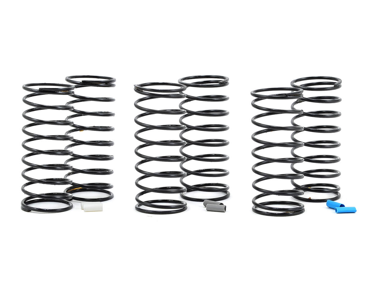 Team Associated RC10 B44 12mm Big Bore Front Shock Spring Kit (3) (Medium)