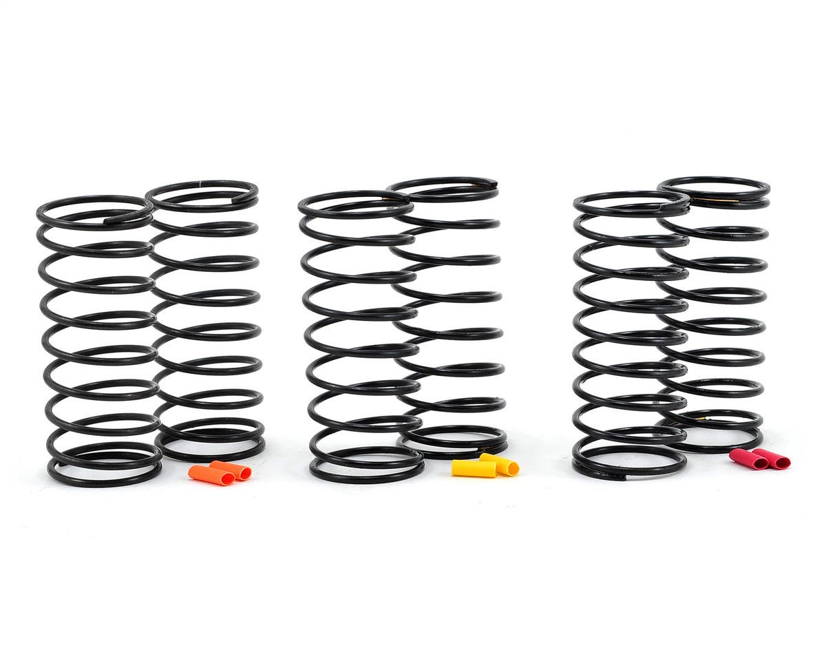 Team Associated RC10 B6D 12mm Big Bore Front Shock Spring Kit (3) (Hard)