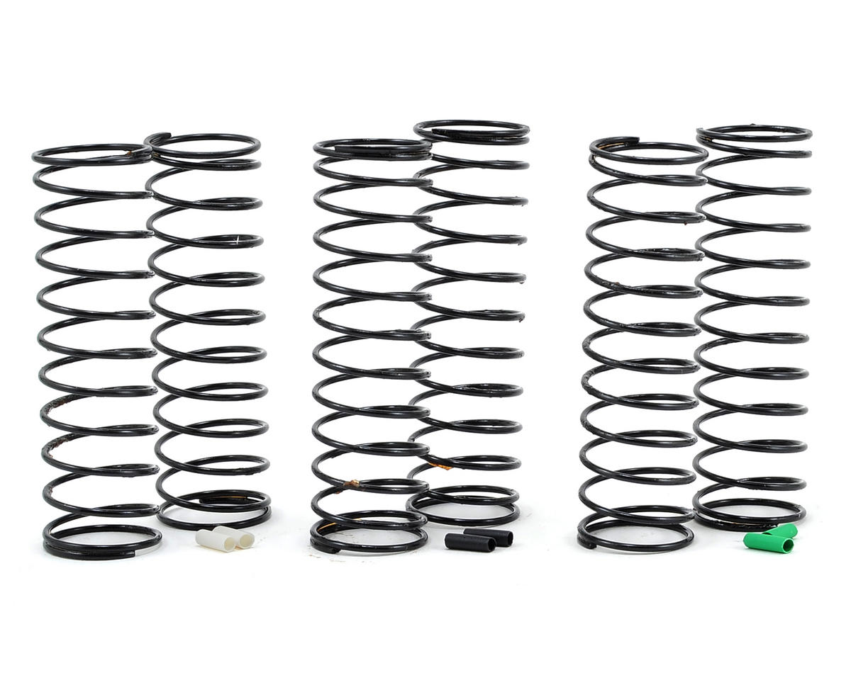 Team Associated RC10 B6D 12mm Big Bore Rear Shock Spring Kit (3) (Soft)