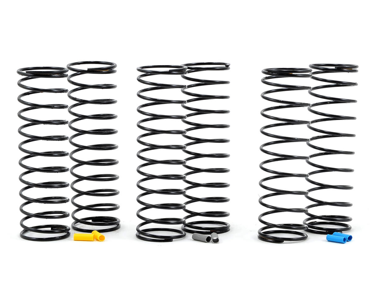 Team Associated RC10 B6D 12mm Big Bore Rear Shock Spring Kit (3) (Medium)