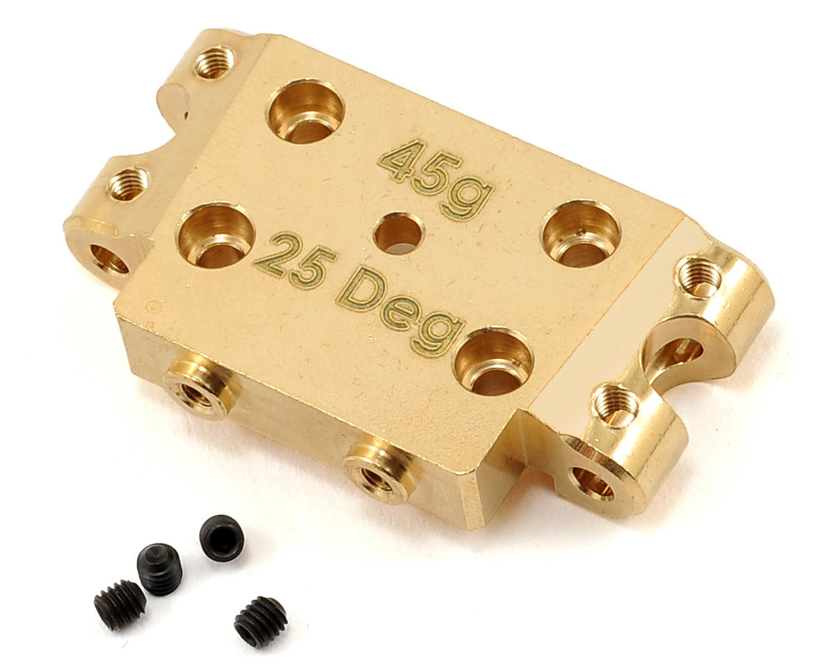 Factory Team 25° Brass Bulkhead by Team Associated