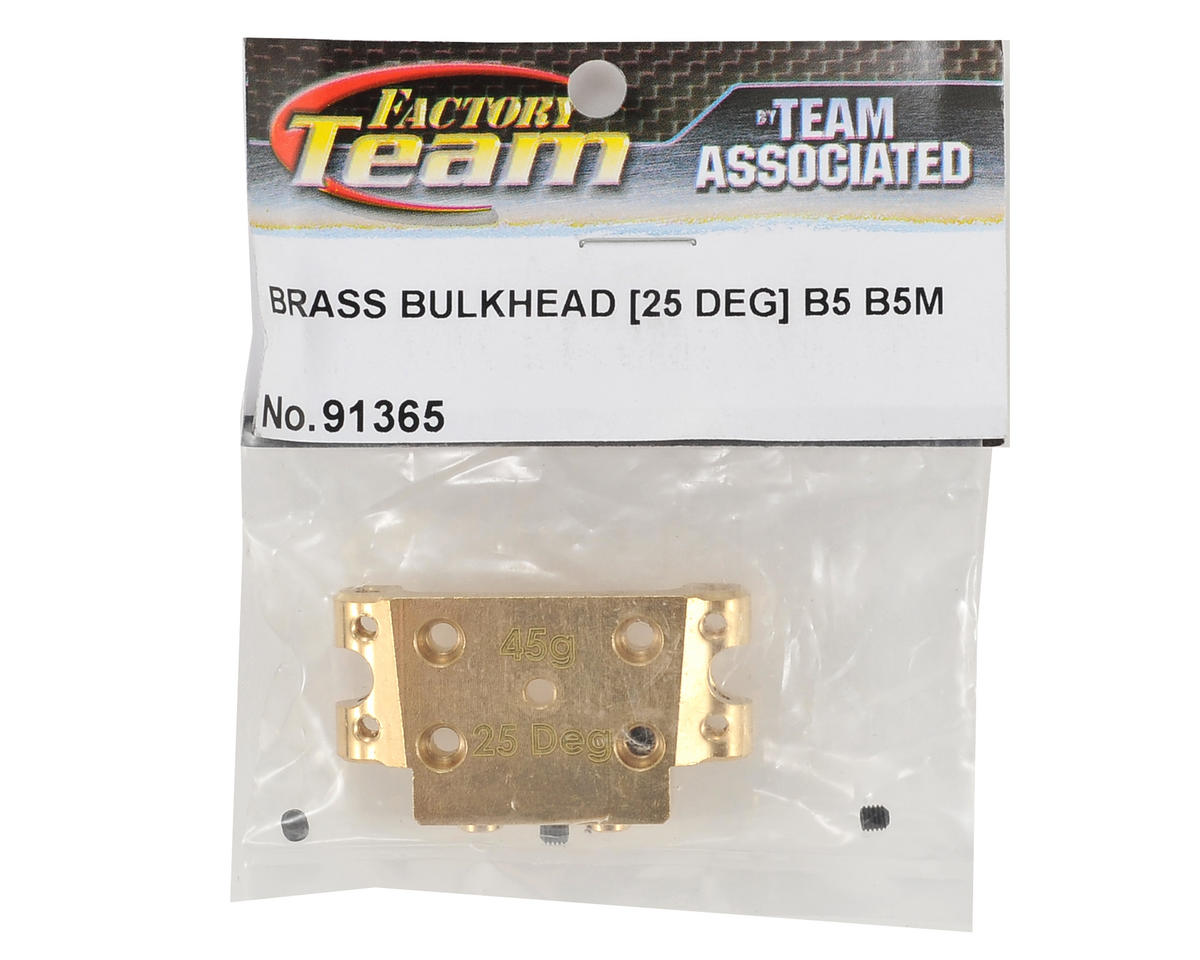 Team Associated Factory Team 25° Brass Bulkhead
