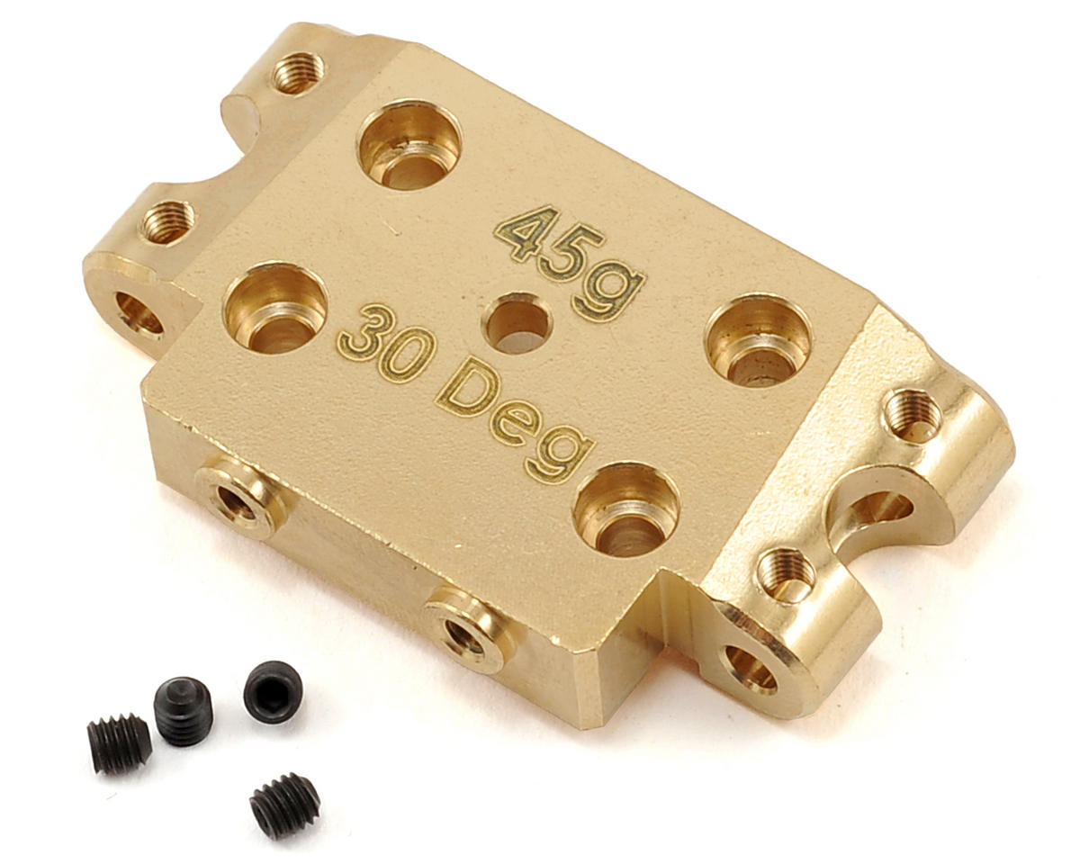 Team Associated Factory Team 30° Brass Bulkhead