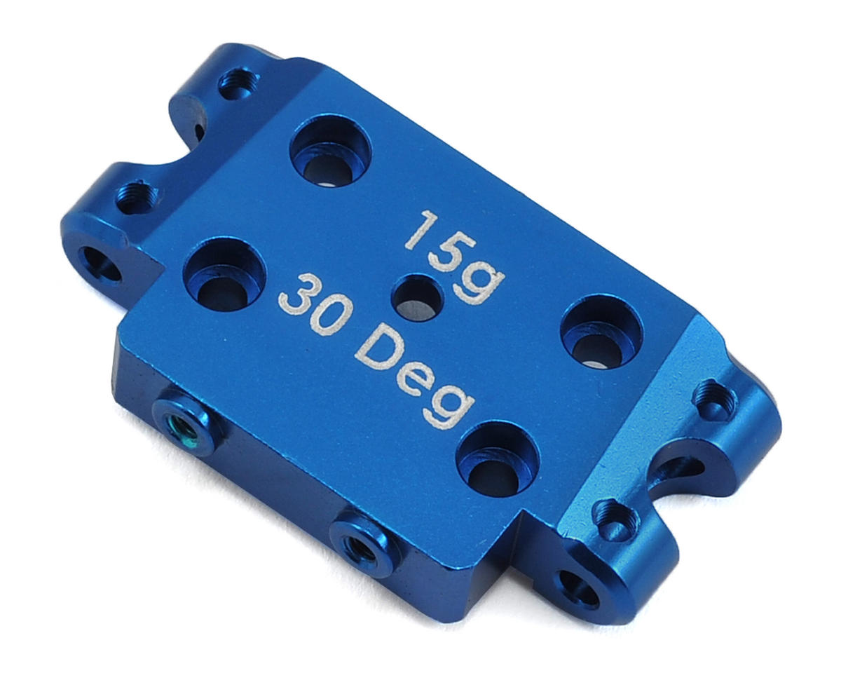 Team Associated 30° Aluminum Factory Team Bulkhead (15g)