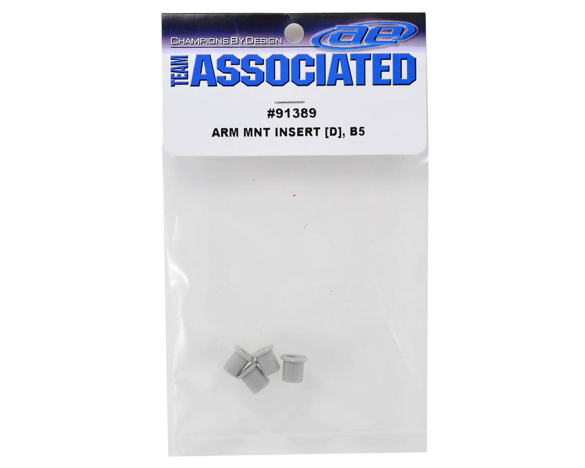 ASC91389 Team Associated Rear Arm Mount Insert Set D