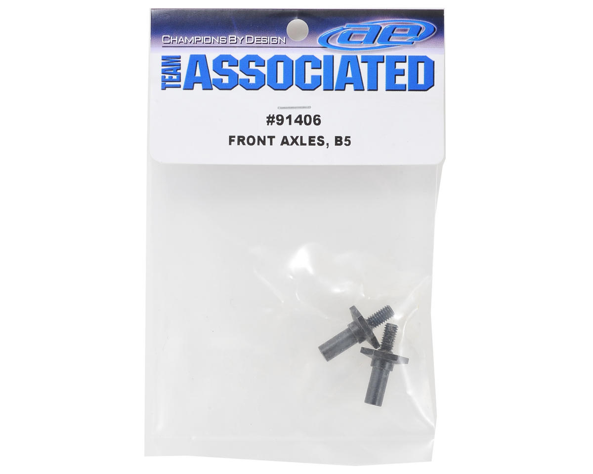 Hex Front Axle (2) by Team Associated